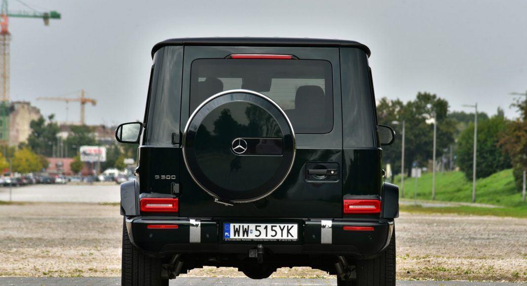 Mercedes G 500 - tył