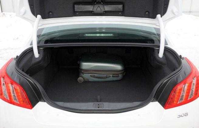 Peugeot 508 I - bagażnik