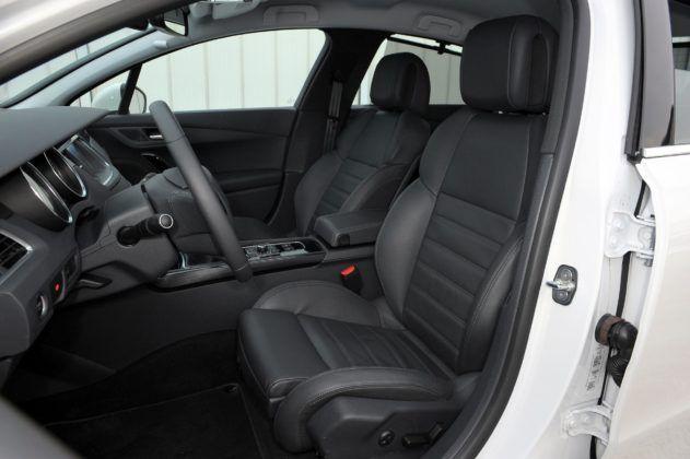 Peugeot 508 I - fotel kierowcy