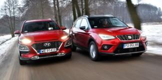 Hyundai Kona & Seat Arona
