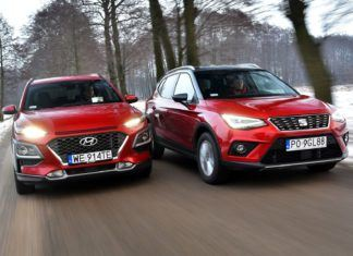 Porównanie miejskich crossoverów - Hyundai Kona i Seat Arona