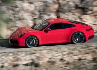 Porsche 911 (992) - pierwsza jazda, zdjęcia