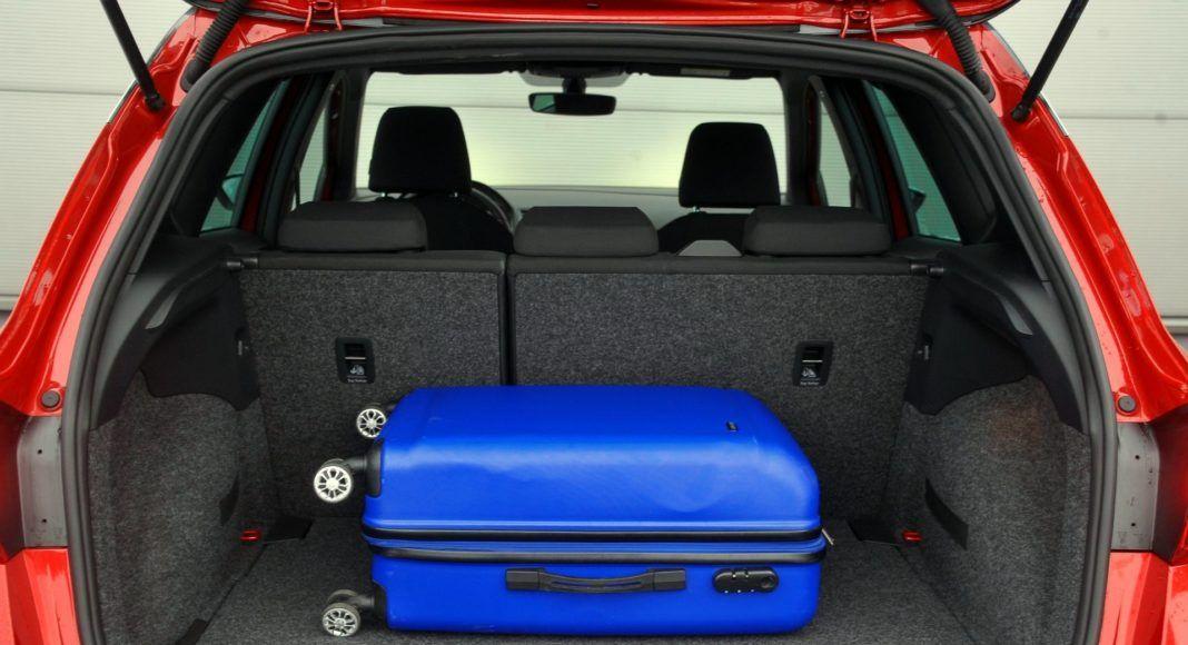 Seat Arona - bagażnik