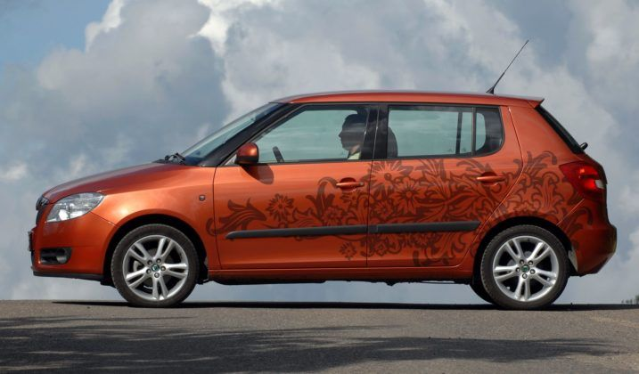 Skoda Fabia II - hatchback