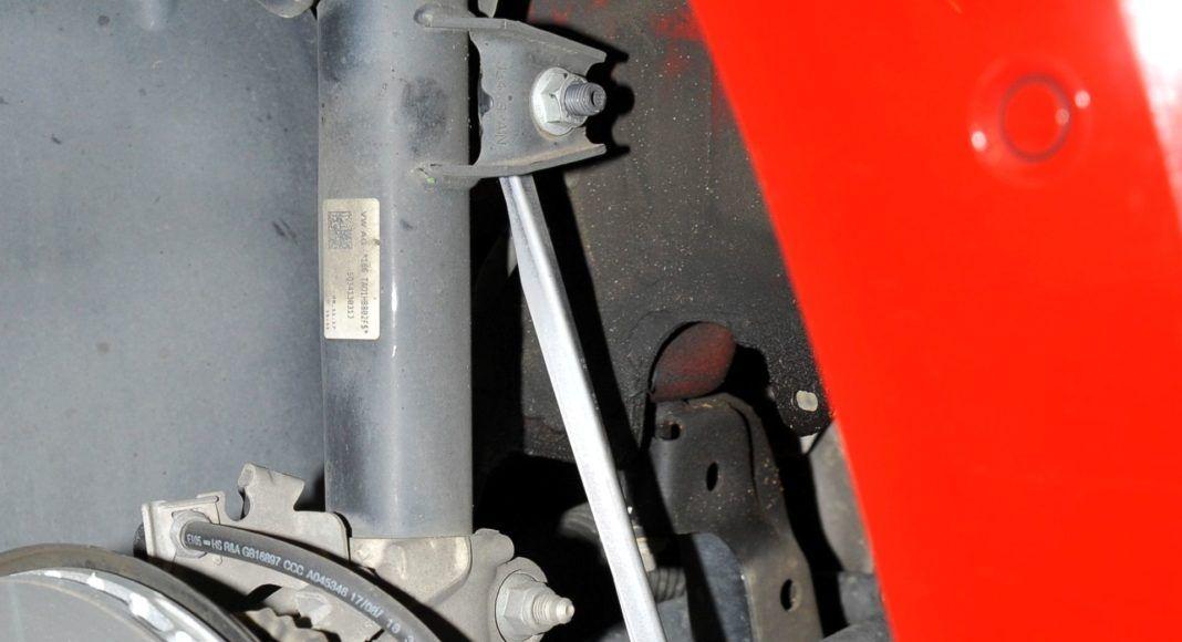 Skoda Karoq - łącznik stabilizatora