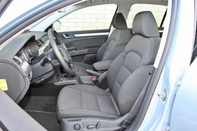 Skoda Superb II - fotel kierowcy