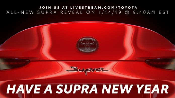 Toyota Supra - zajawka