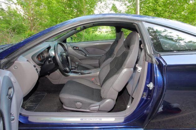 Toyota Celica - fotel kierowcy
