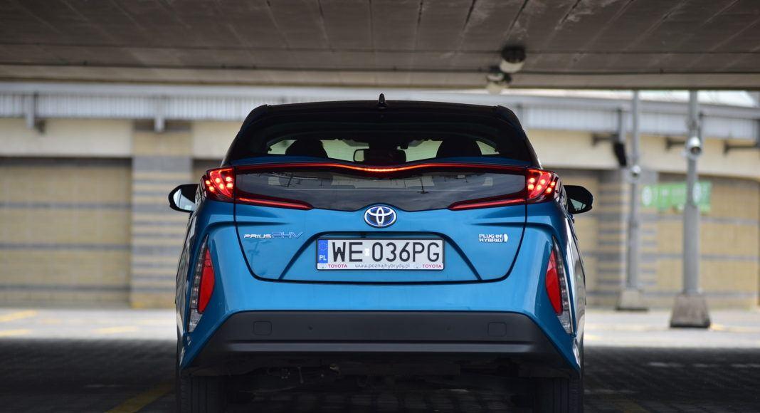 Toyota Prius Plug-In Hybrid – tył