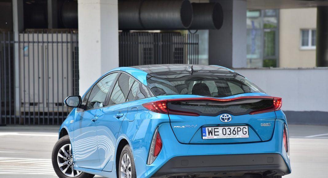 Toyota Prius Plug- tył lewy