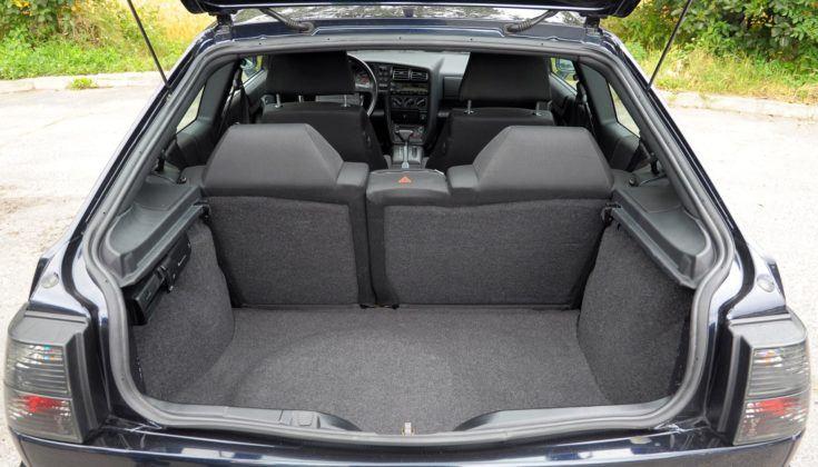 Volkswagen Corrado - bagażnik