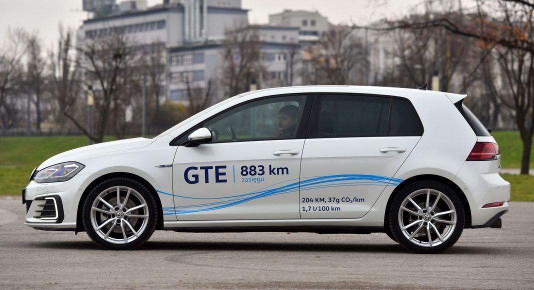 Volkswagen Golf GTE - bok