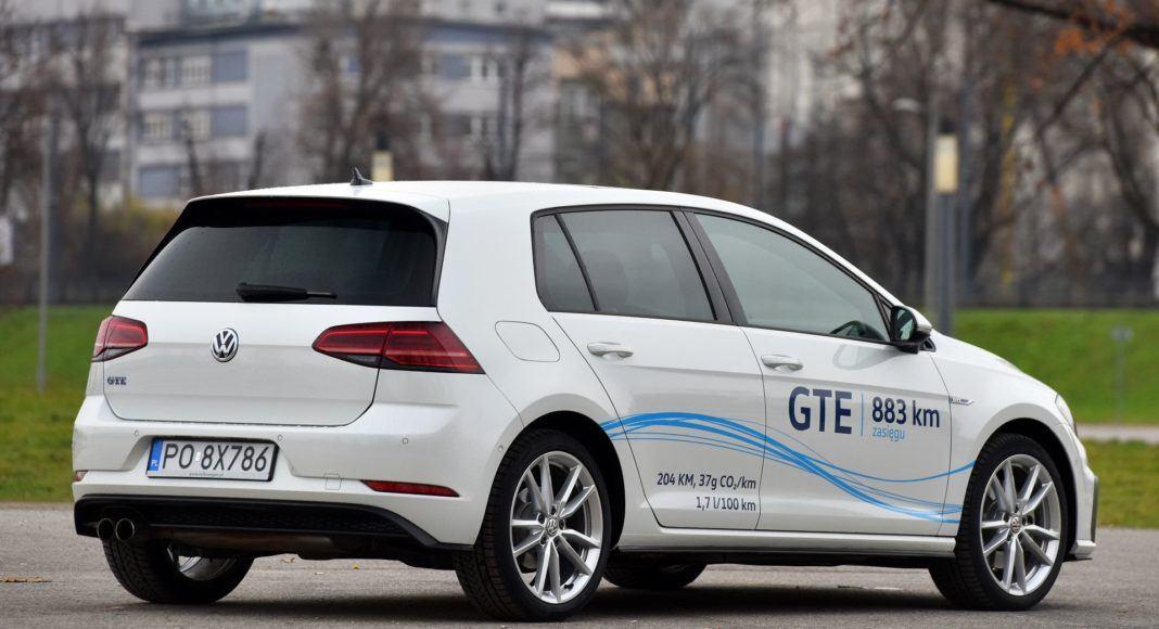 Volkswagen Golf GTE - tył