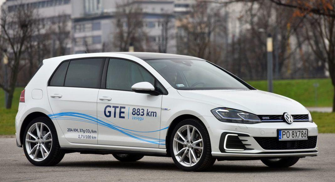 Volkswagen Golf GTE - przód