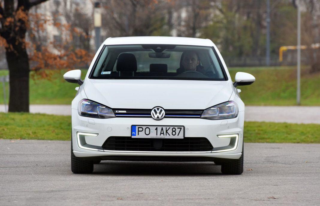 Volkswagen e-Golf - przód