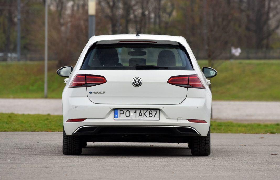 Volkswagen e-Golf - tył