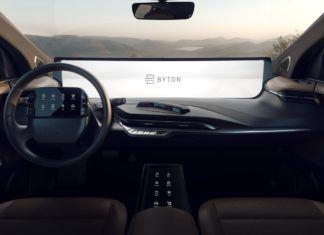 Elektryczne prototypy Byton M-Byte oraz K-Byte - z tabletem zamiast deski rozdzielczej
