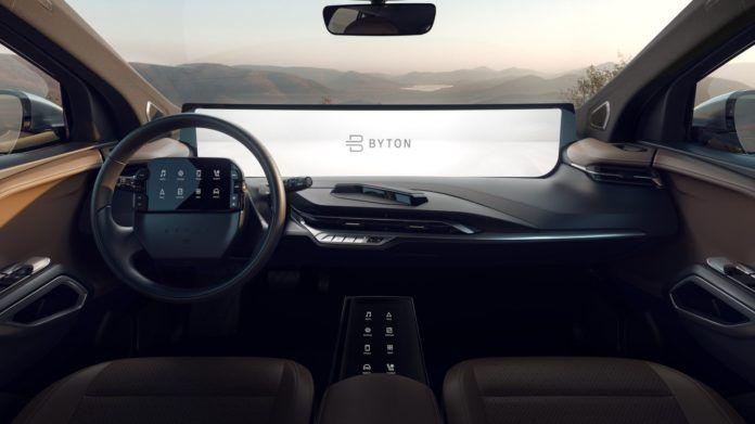 Byton M-Byte (elektryczny SUV)