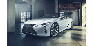 Lexus LC Convertible (2019)