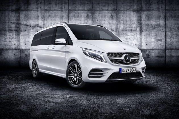 Mercedes klasy V po liftingu (2019)