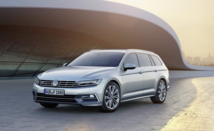 Volkswagen Passat (B8) sprzed liftingu - rok modelowy 2015