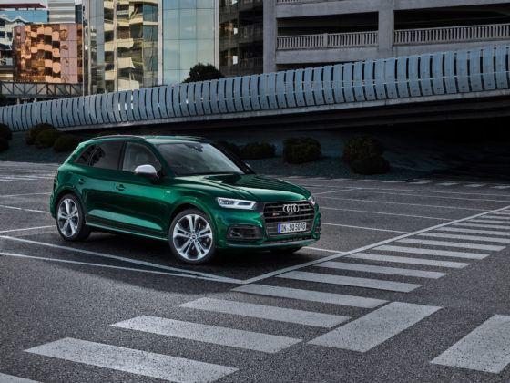 Audi SQ5 TDI - przód