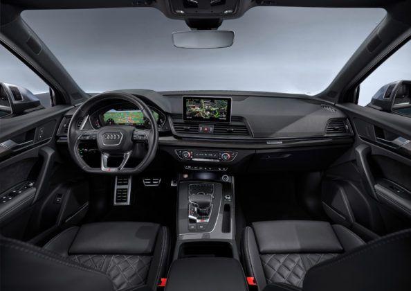 Audi SQ5 TDI - deska rozdzielcza