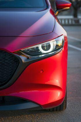 Mazda 3 (2019) - lampa