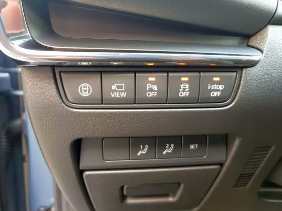 Mazda 3 (2019) - kabina