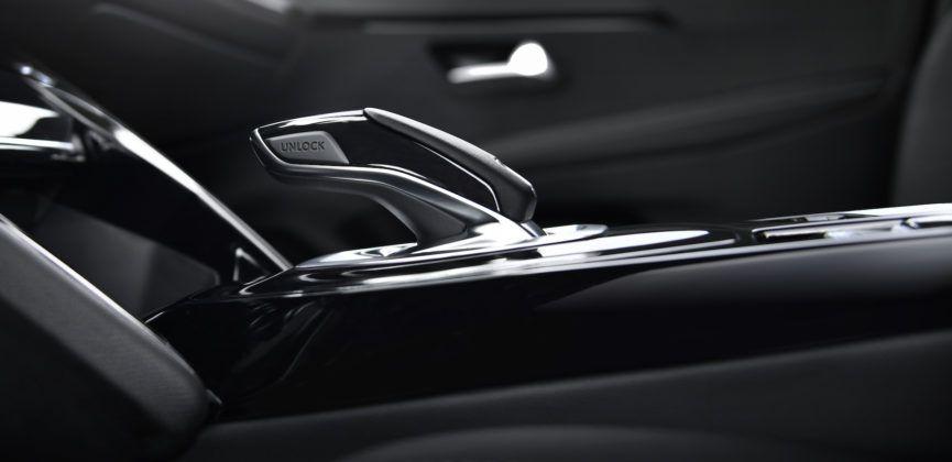 Peugeot 208 (2019) - dźwignia automatu