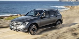 Mercedes GLC po liftingu (2019)