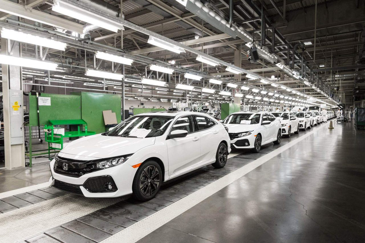 Honda - fabryka w Swindon