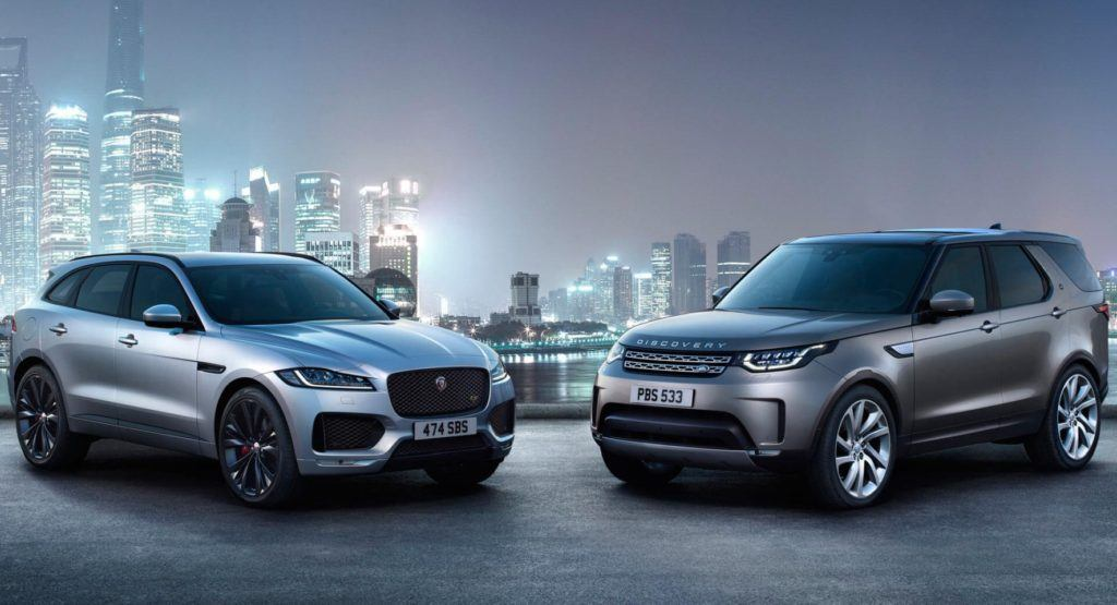 Jaguar F-Pace oraz Land Rover Discovery