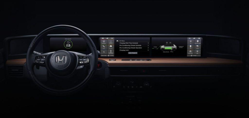 Honda EV - wnętrze