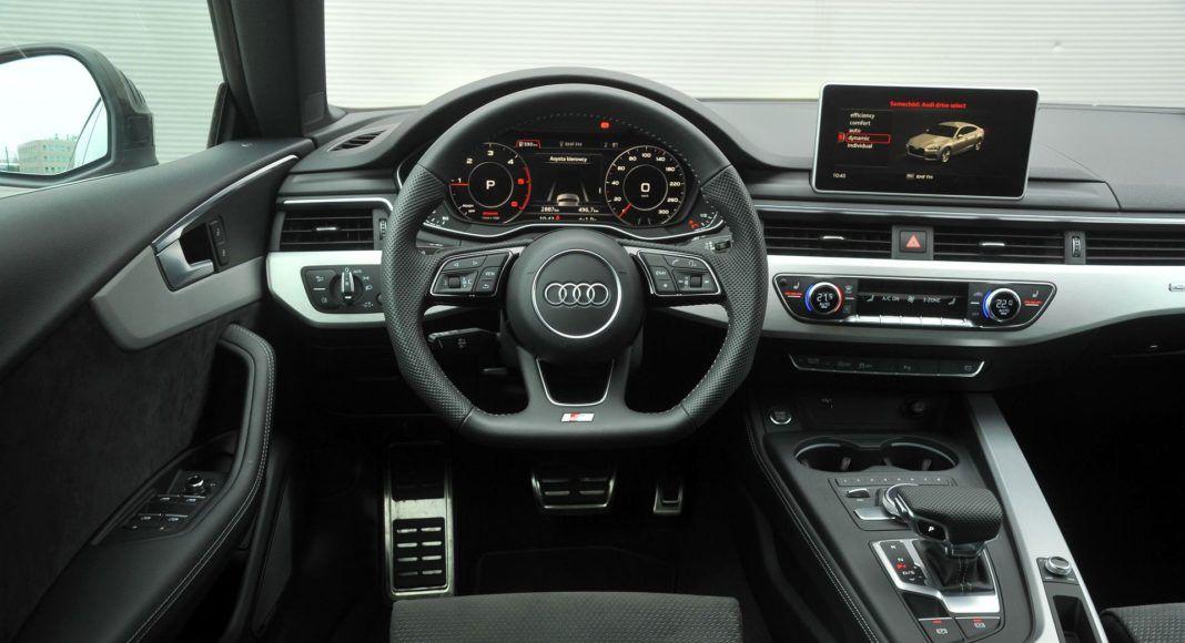 Audi A5 Sportback - deska rozdzielcza