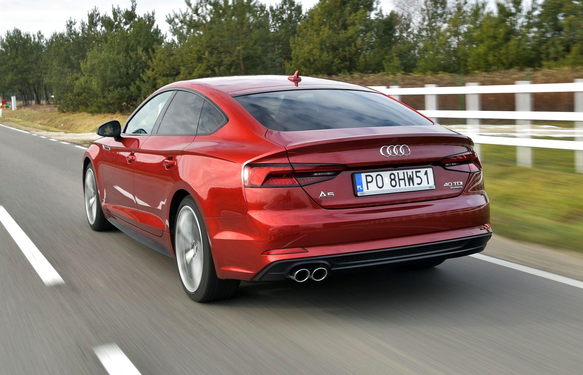 Audi A5 Sportback - dynamiczne (2)