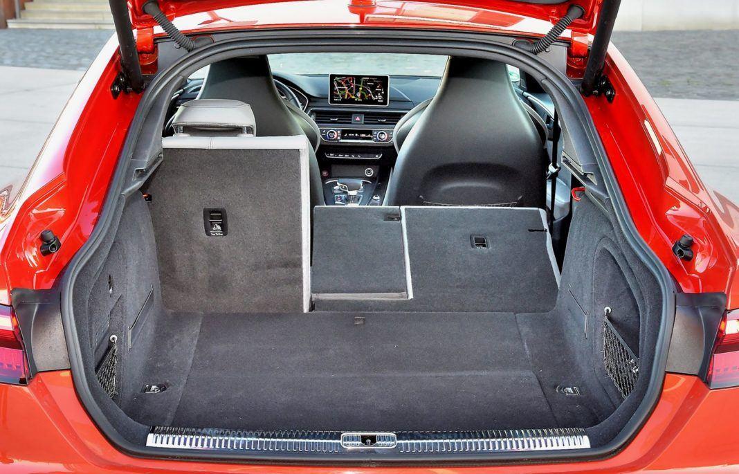 Audi S5 Sportback - bagażnik