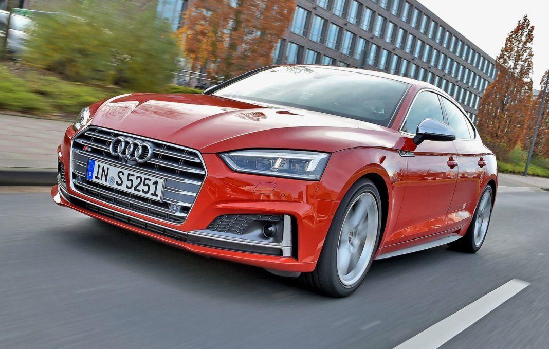 Audi S5 Sportback - dynamiczne