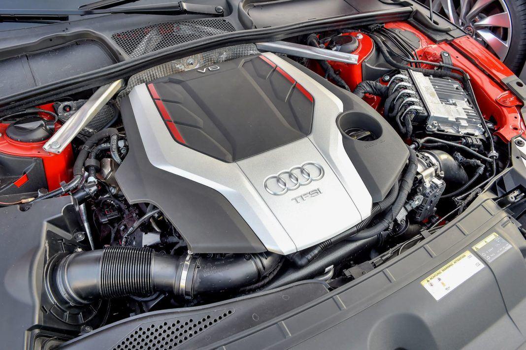 Audi S5 Sportback - silnik