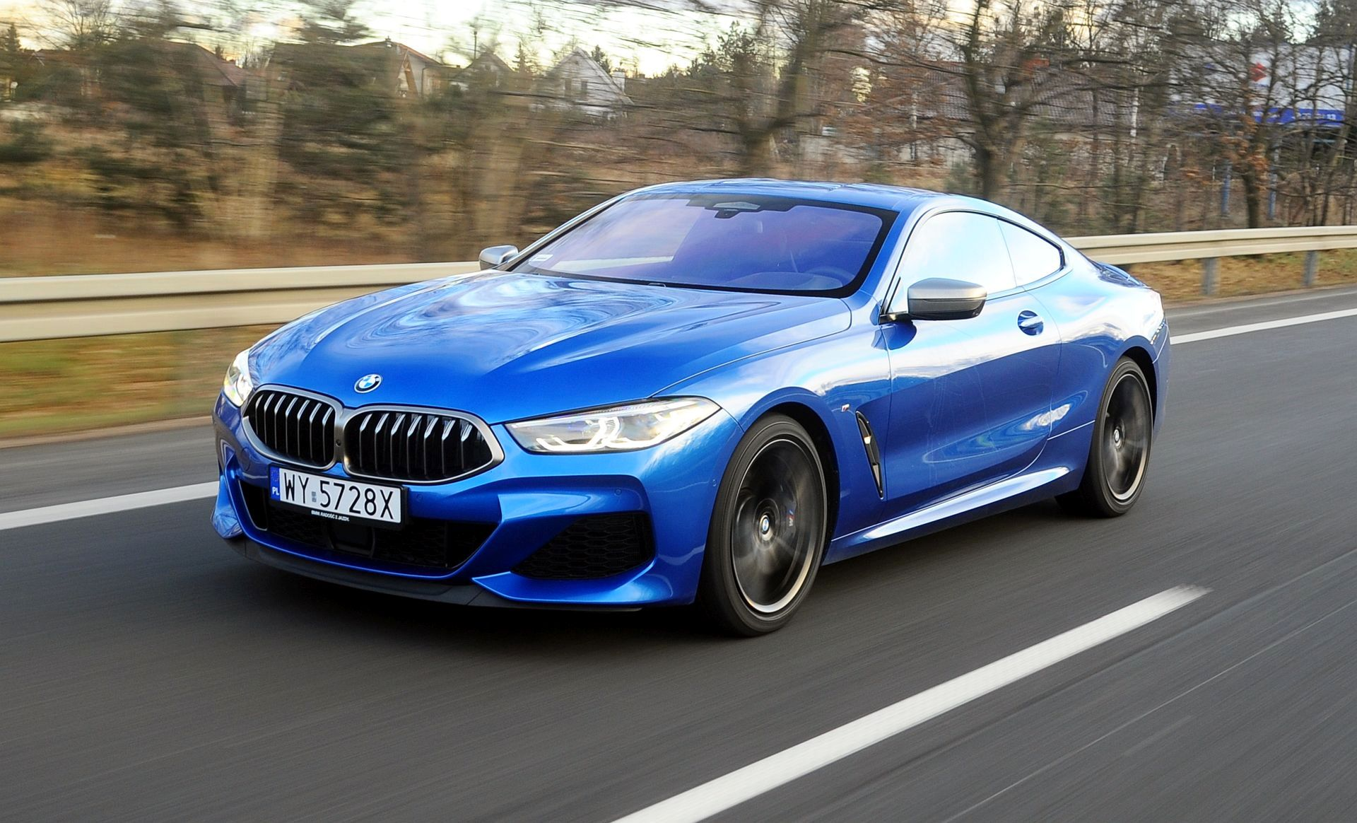 BMW M850i - dynamiczne