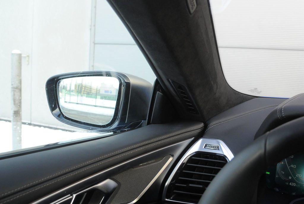 BMW M850i - lusterka