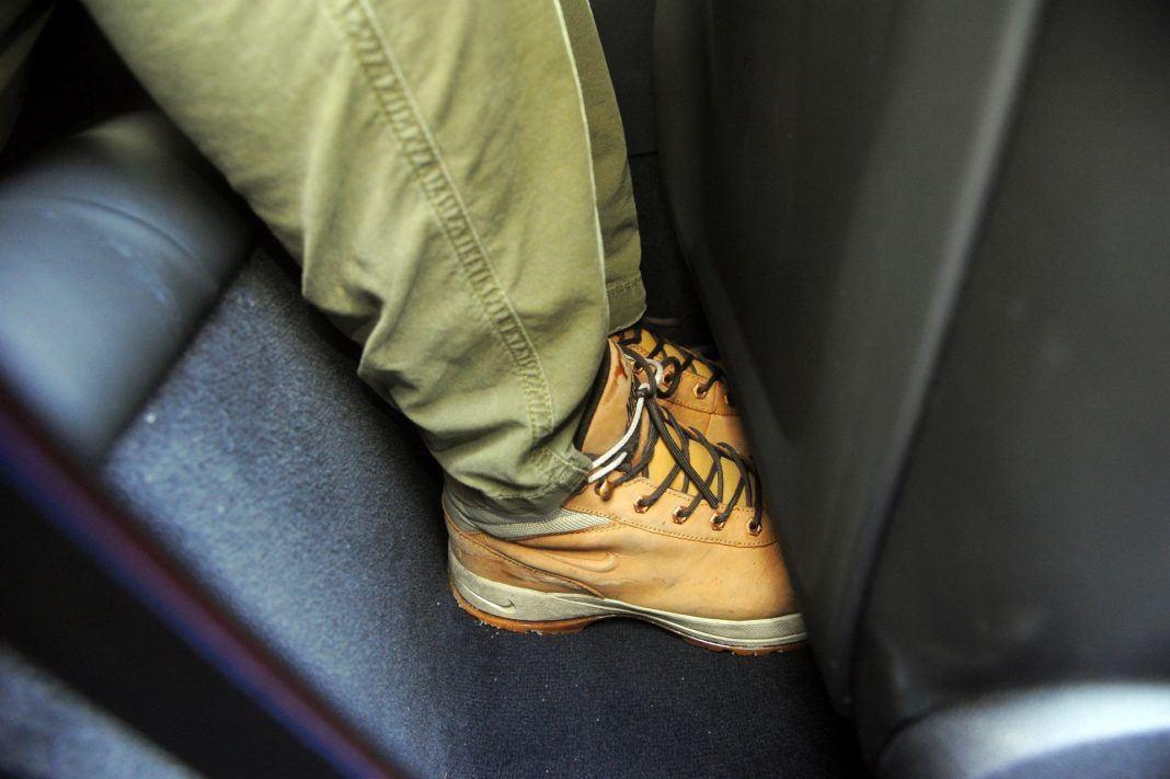 BMW M850i - miejsce na nogi