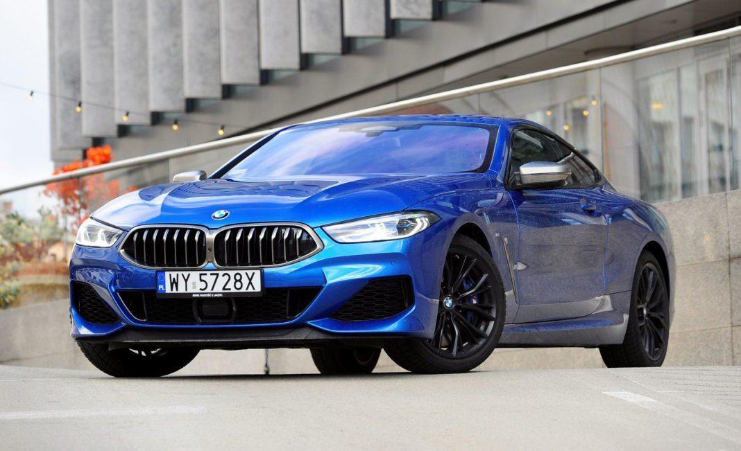 BMW M850i - przód