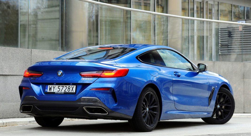 BMW M850i - tył