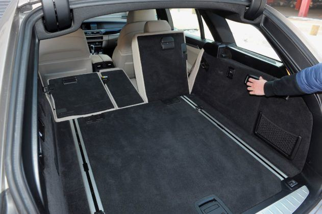 BMW serii 5 (F10) - bagażnik