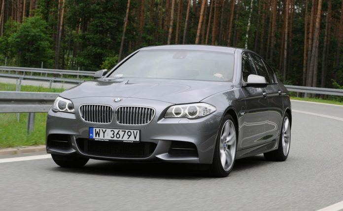 BMW serii 5 (F10) - dynamiczne (2)