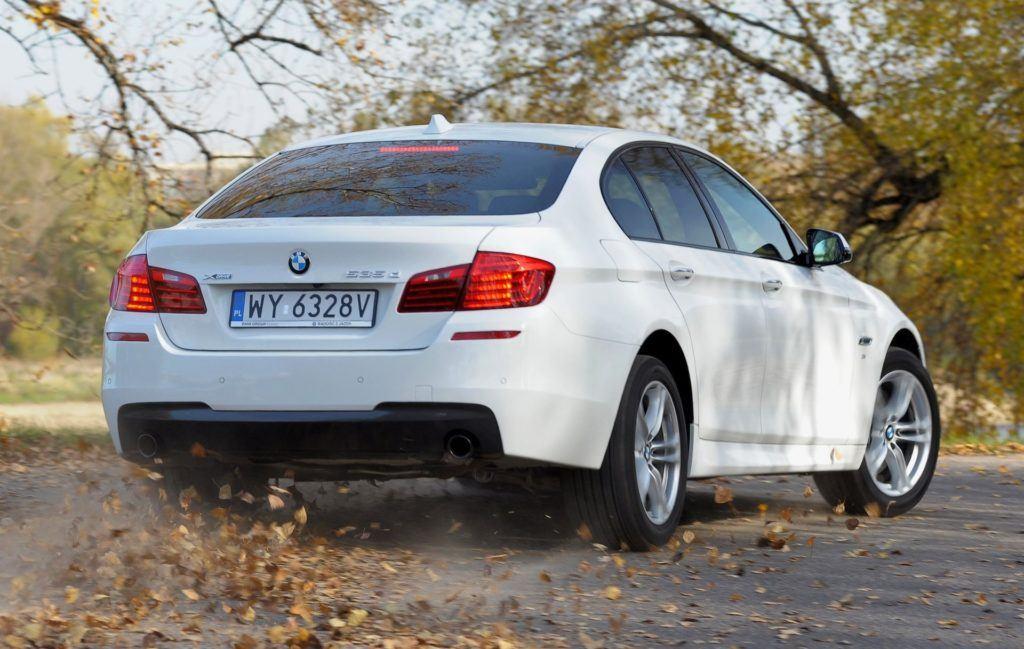 BMW serii 5 (F10) - dynamiczne (7)