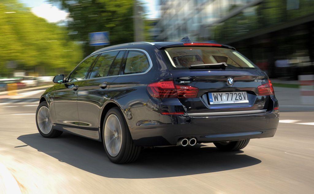 BMW serii 5 (F10) - dynamiczne (8)