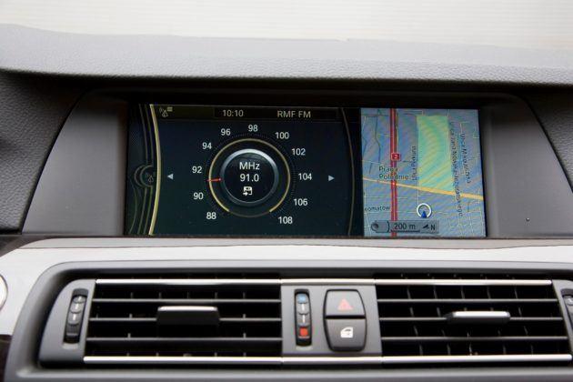 BMW serii 5 (F10) - ekran