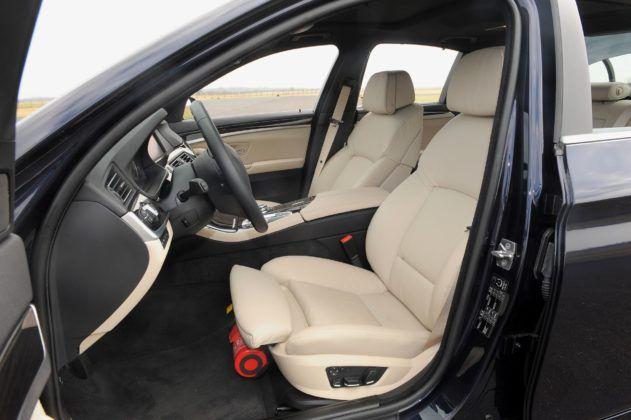 BMW serii 5 (F10) - fotel kierowcy